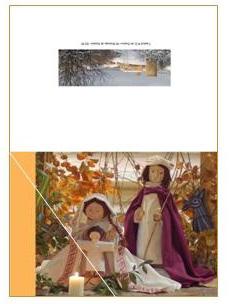 CDN1 - carte double pliée 210 x 148 mm - 2,50 €