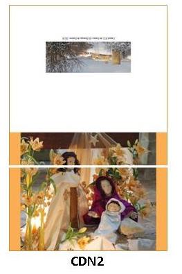 CDN2 - carte double pliée 210 x 148 mm - 2,50 €