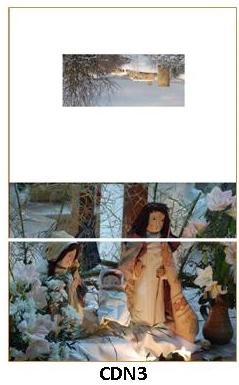 CDN3 - carte double pliée 210 x 148 mm - 2,50 €