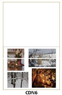 CDN6 - carte double pliée 210 x 148 mm - 2,50 €